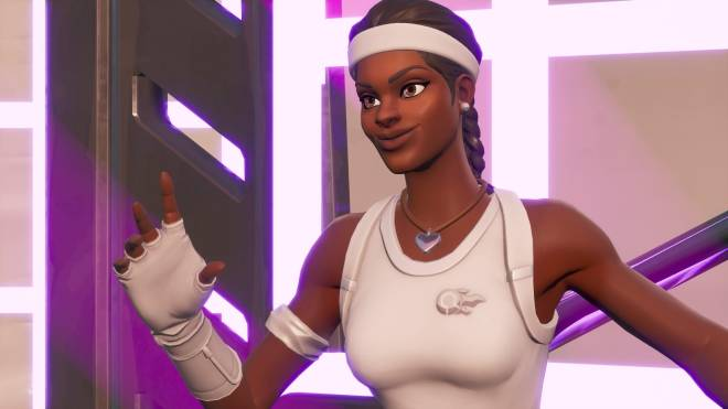 Fortnite: Battle Royale - Tennis, anyone? 🎾💕✨(Match Point Showcase)  image 15
