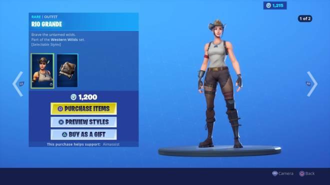 Fortnite: Battle Royale - Hmm, Should I Get Her? image 2