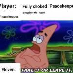 Peacekeepers be like 🤦♂️