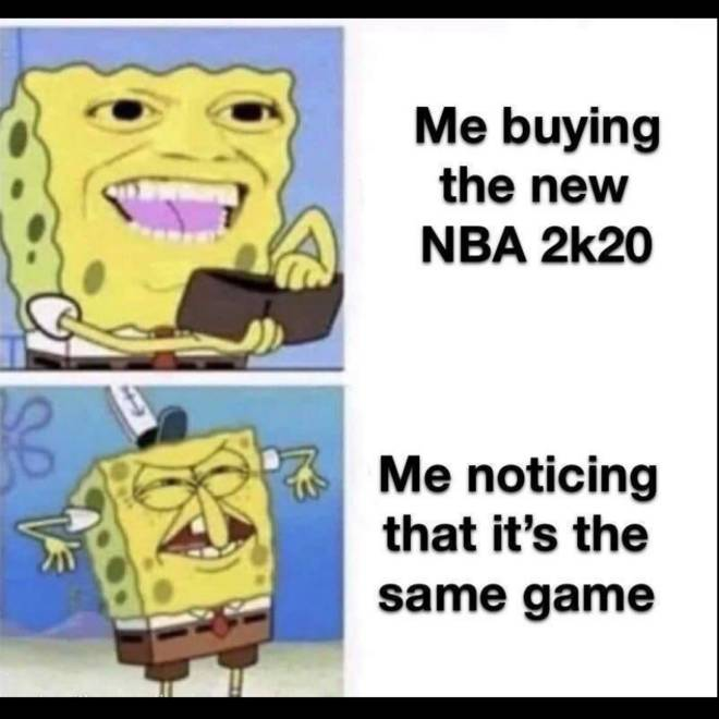 NBA 2K: Memes - I can't lie this was me😭 image 1
