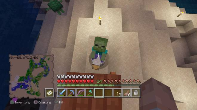 Minecraft: General - Chicken 🐓 AND Sheep 🐏 Jockey?! 😯 image 1