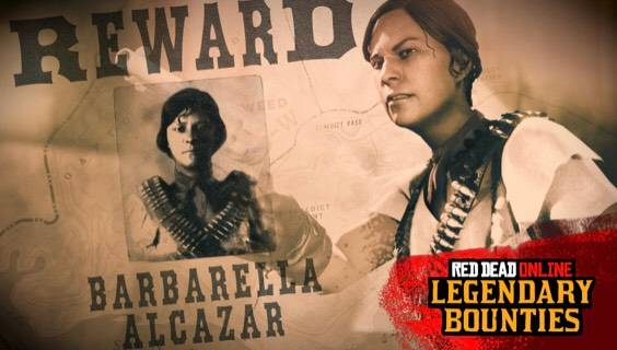 Red Dead Redemption: General - RDO LEGENDARY BOUNTIES (September 17th update) image 1