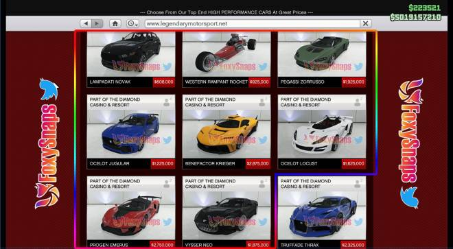 GTA: General - Released cars n the rest of the drop feed cars image 2