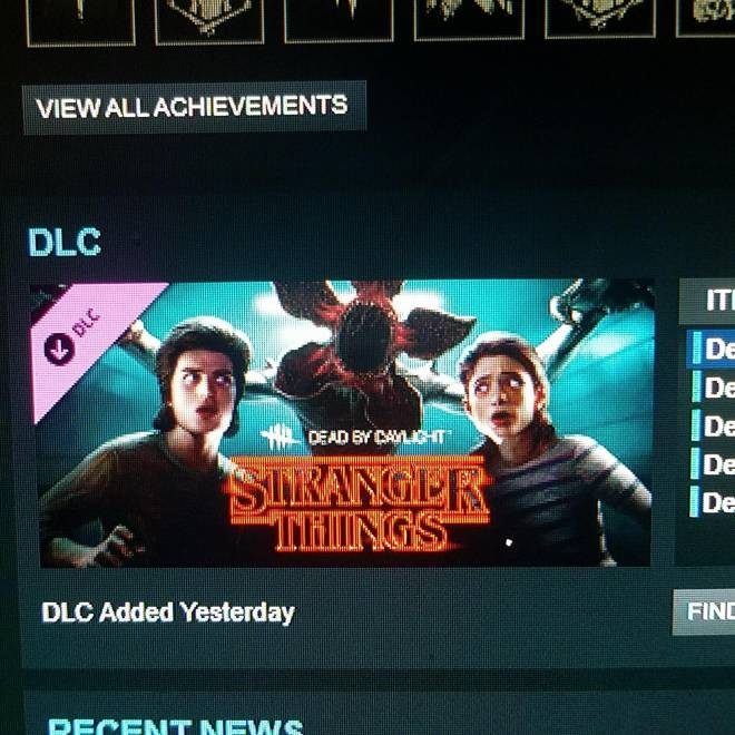Dead by Daylight: Promotions - New stranger things dlc video going up!!!!!!!! image 1