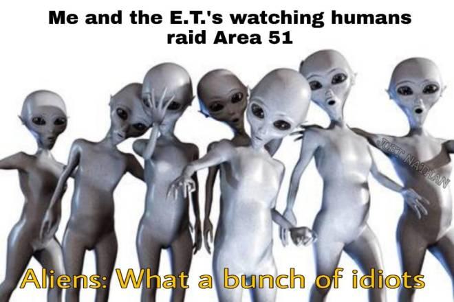 Entertainment: Memes - The best Area 51 meme I made... image 2