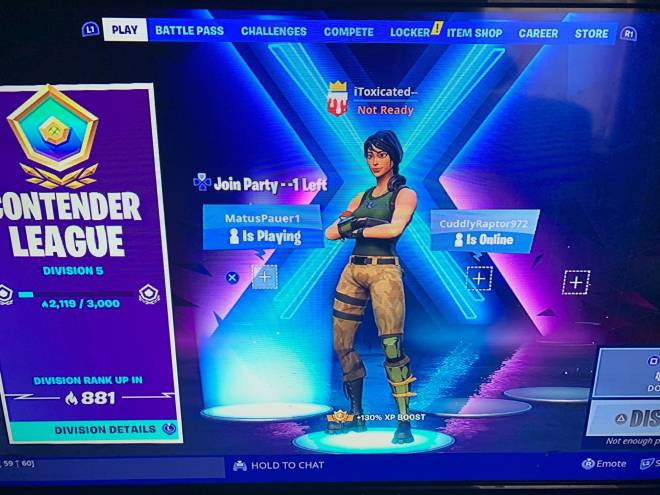 Fortnite: Looking for Group - Trio needed🤷🏾♂️ image 3
