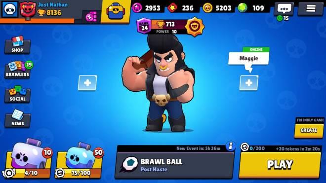 Brawl Stars: General - Got my bull to 700+ thanks to mostly Brawl Ball... image 2