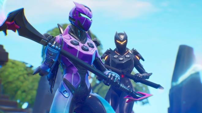 Fortnite: Battle Royale - Robo Twins 🤖💕✨(Danger Zone x Oblivion Showcase) {feat. QueenMari2x} image 3
