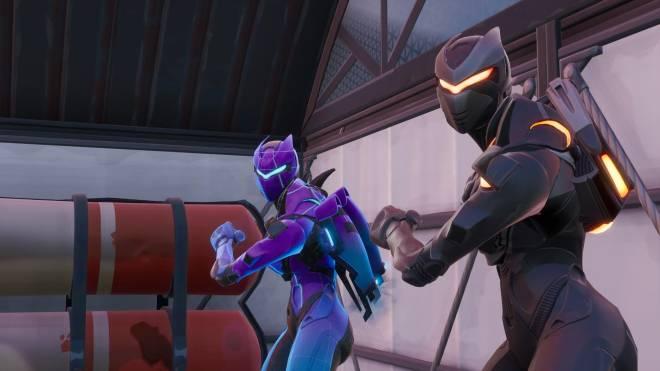Fortnite: Battle Royale - Robo Twins 🤖💕✨(Danger Zone x Oblivion Showcase) {feat. QueenMari2x} image 11