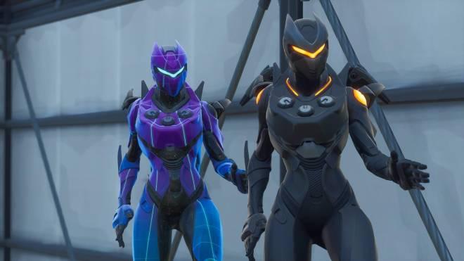 Fortnite: Battle Royale - Robo Twins 🤖💕✨(Danger Zone x Oblivion Showcase) {feat. QueenMari2x} image 5