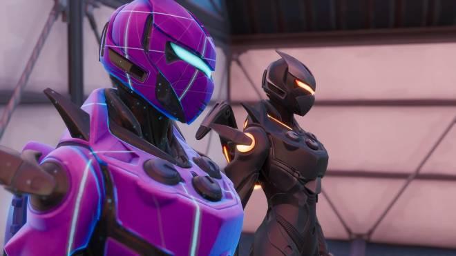 Fortnite: Battle Royale - Robo Twins 🤖💕✨(Danger Zone x Oblivion Showcase) {feat. QueenMari2x} image 13