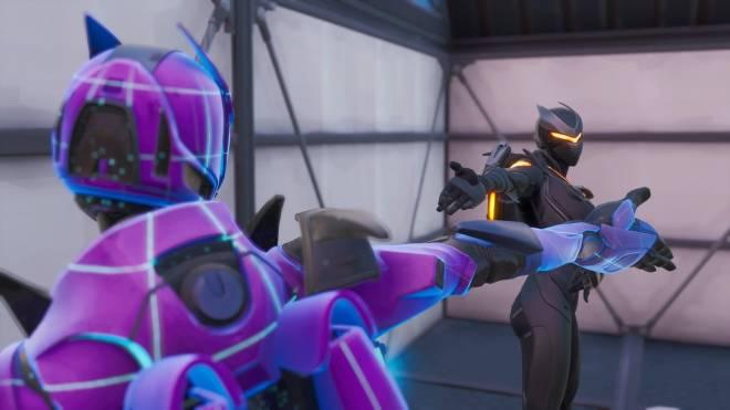 Fortnite: Battle Royale - Robo Twins 🤖💕✨(Danger Zone x Oblivion Showcase) {feat. QueenMari2x} image 9