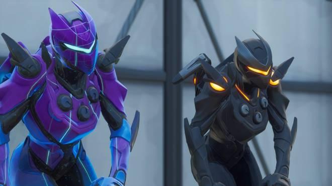 Fortnite: Battle Royale - Robo Twins 🤖💕✨(Danger Zone x Oblivion Showcase) {feat. QueenMari2x} image 6