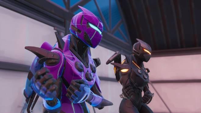 Fortnite: Battle Royale - Robo Twins 🤖💕✨(Danger Zone x Oblivion Showcase) {feat. QueenMari2x} image 10