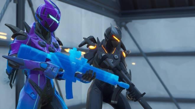 Fortnite: Battle Royale - Robo Twins 🤖💕✨(Danger Zone x Oblivion Showcase) {feat. QueenMari2x} image 4