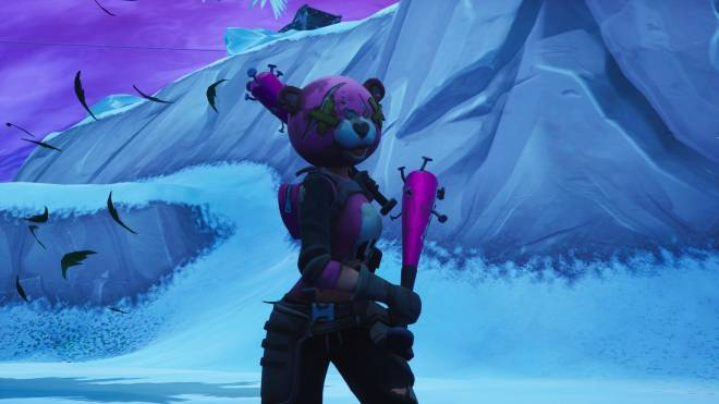 Fortnite: Memes - your worst night bear 🐻😈 just a few pictures ..🖤 🎮📸   #skinshowcase  image 1