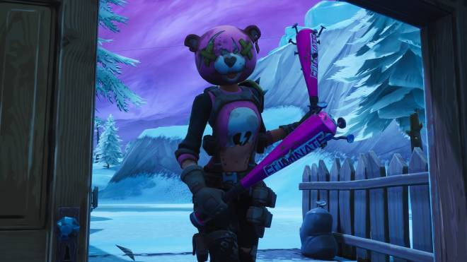 Fortnite: Memes - your worst night bear 🐻😈 just a few pictures ..🖤 🎮📸   #skinshowcase  image 3