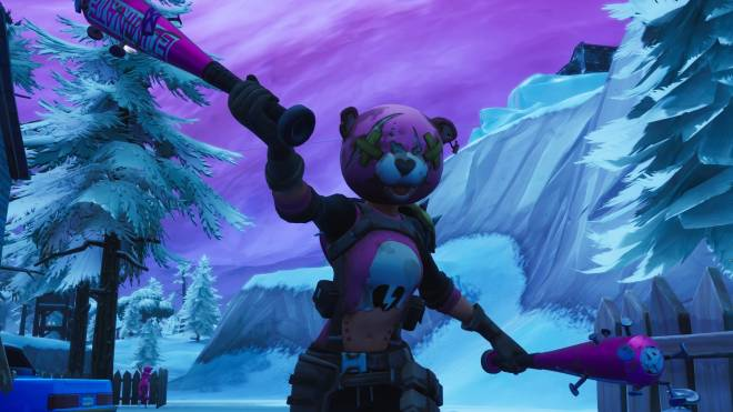 Fortnite: Memes - your worst night bear 🐻😈 just a few pictures ..🖤 🎮📸   #skinshowcase  image 2