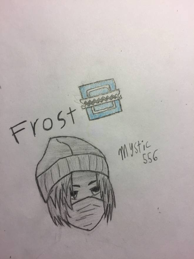 Rainbow Six: Art - Frost Drawing image 2