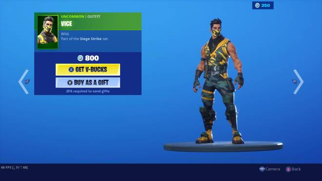 Fortnite: Battle Royale - #Skin My favorite uncommon skin in the game it was a instant cop for me! 😋 image 1