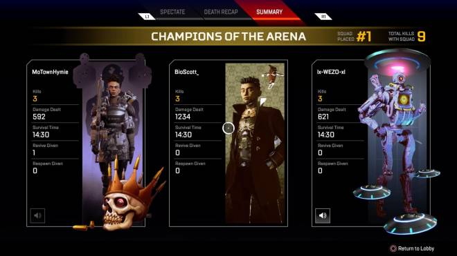Apex Legends: General - MY FIRST WIN IN SEASON 3!!! image 1