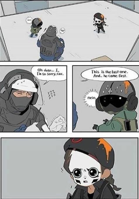 Rainbow Six: Memes - This is so cute ❤️❤️😫 image 2