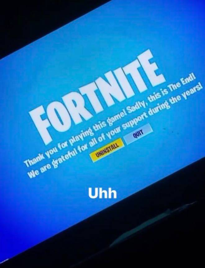 Fortnite: Memes - Live Event Happens Then you see this  image 1