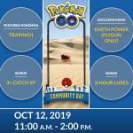 Community Day - Oct. 12th 2019