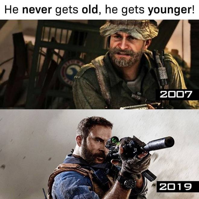 Call of Duty: Memes - Captain price is black  image 1