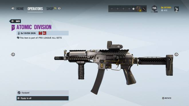 Rainbow Six: General - Operation: Ember Rise pro league sets come with extra bonuses for Kapkan, Valk, and Lesion.  image 13