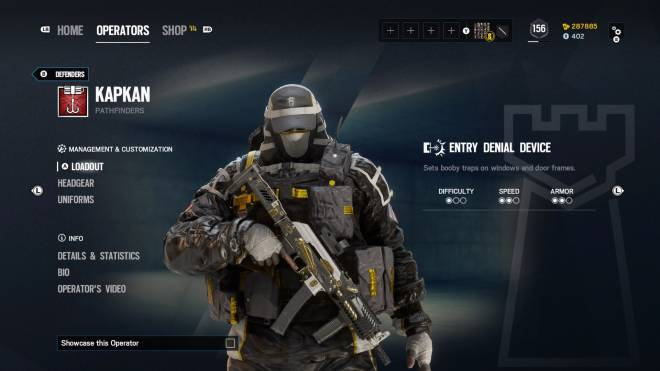 Rainbow Six: General - Operation: Ember Rise pro league sets come with extra bonuses for Kapkan, Valk, and Lesion.  image 6