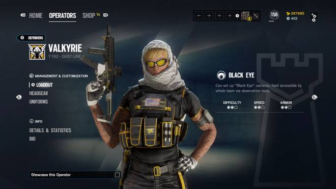Rainbow Six: General - Operation: Ember Rise pro league sets come with extra bonuses for Kapkan, Valk, and Lesion.  image 5