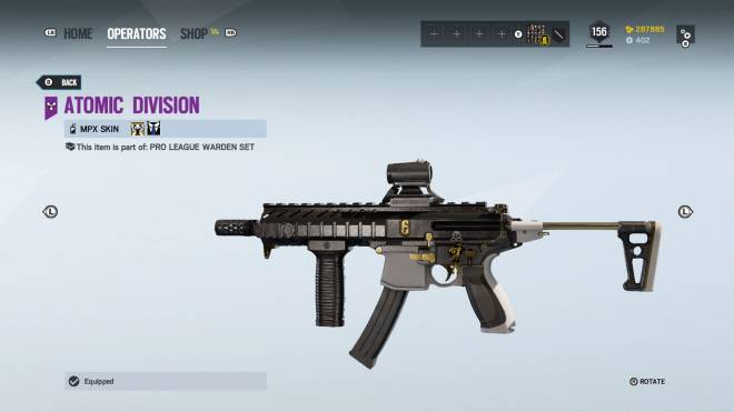 Rainbow Six: General - Operation: Ember Rise pro league sets come with extra bonuses for Kapkan, Valk, and Lesion.  image 15