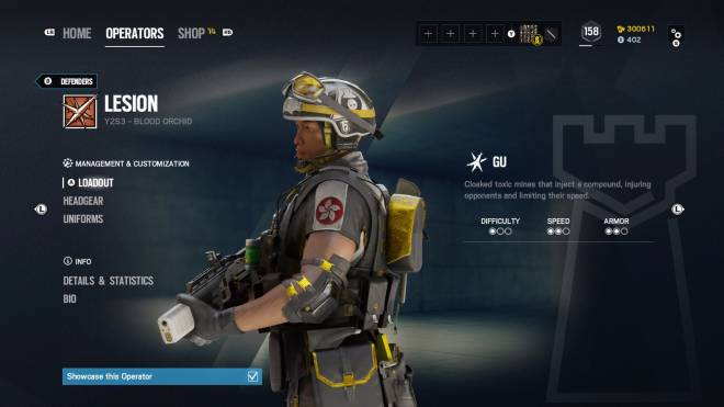 Rainbow Six: General - Operation: Ember Rise pro league sets come with extra bonuses for Kapkan, Valk, and Lesion.  image 8
