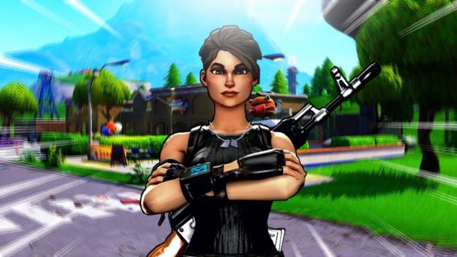 Fortnite: Looking for Group - who's trynna play fortnite, I have 1,000 and I'm looking to teach others! #fortnite image 1