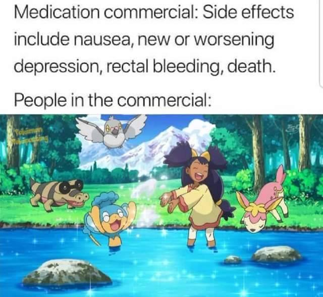 Pokemon: Pokémemes - Side effects are so fun!! image 1