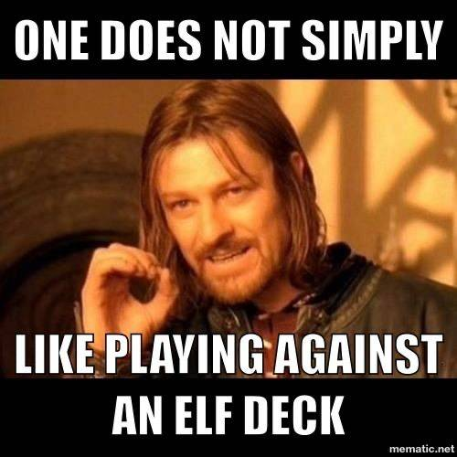 Magic: The Gathering: General - All the elves!  image 1