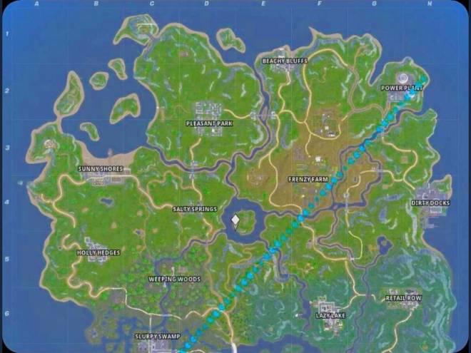 Fortnite: Battle Royale - *LEAKED* Fortnite Chapter 2/ Season 11 Map image 1