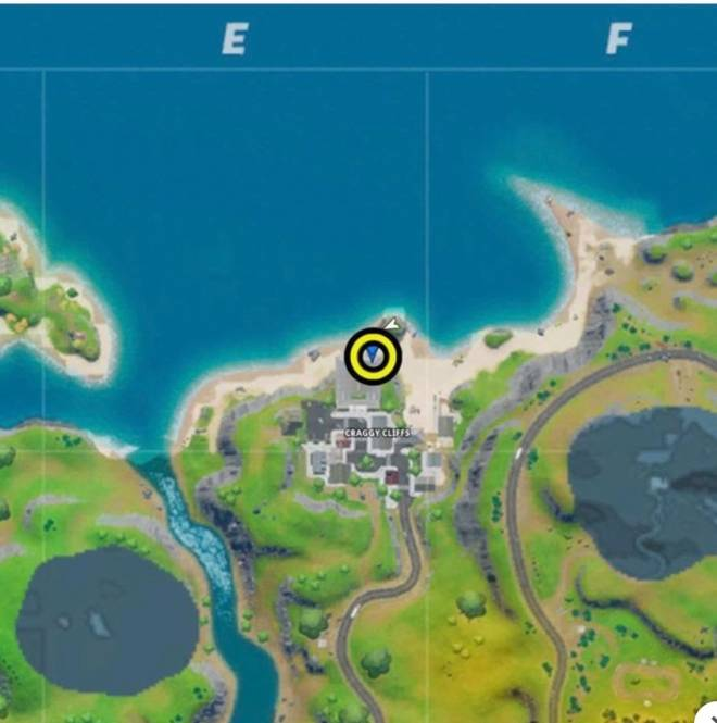 Fortnite: Battle Royale - Meant to post this picture this morning when I finished all meh challenges. the letter O location image 3