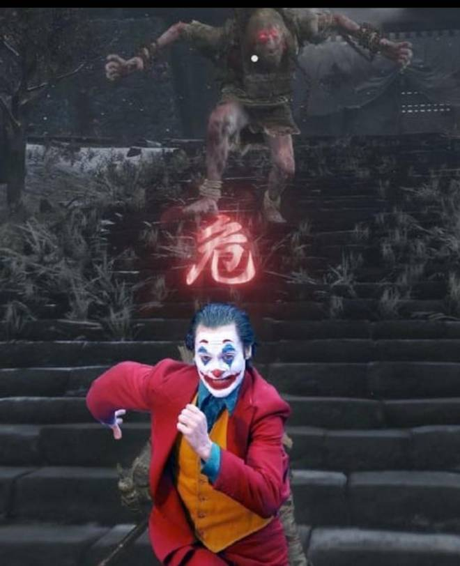 Dark Souls: Memes - Run joker Run !!!! image 1