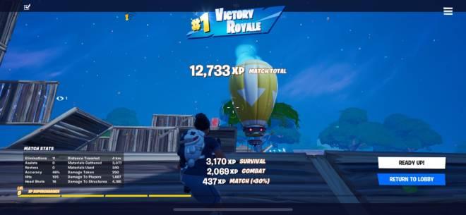 Fortnite: Battle Royale - Just Won Again  image 1
