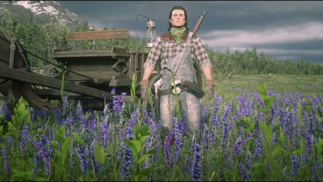 Red Dead Redemption: General - Farm boah outfit  image 2