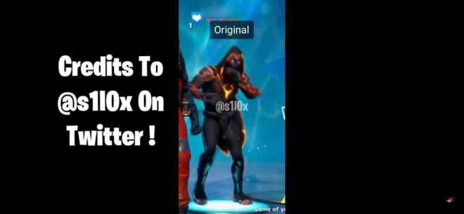 Fortnite: Promotions - Real fortnite leaked skin encrypted molten omen image 4