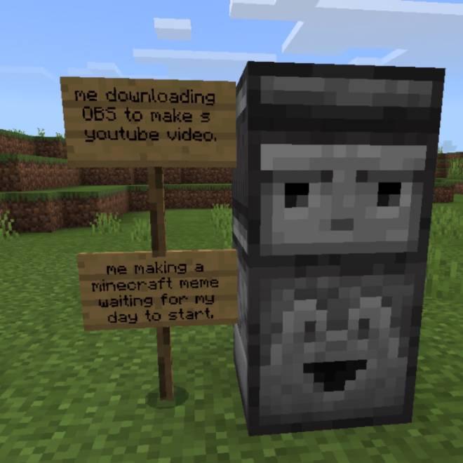 Minecraft: Memes - Upvote? image 1