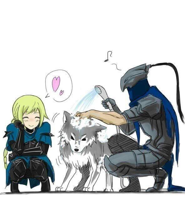 Dark Souls: Memes - Puppy! image 1