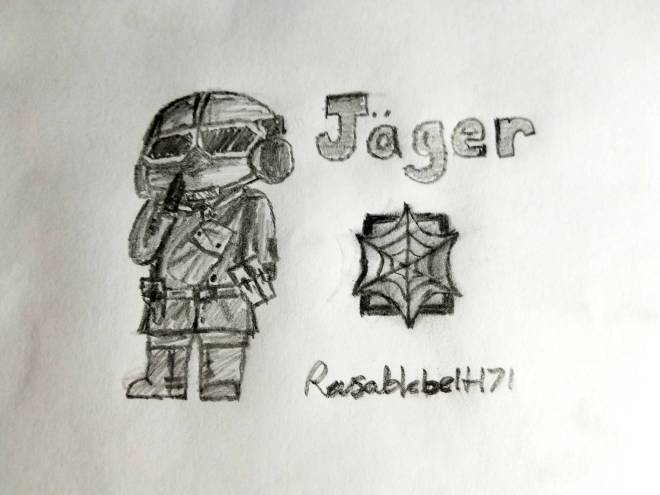 Rainbow Six: Art - Jäger elite chibi drawing! image 2