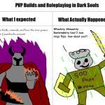 Dark souls 1 PVP in a nutshell