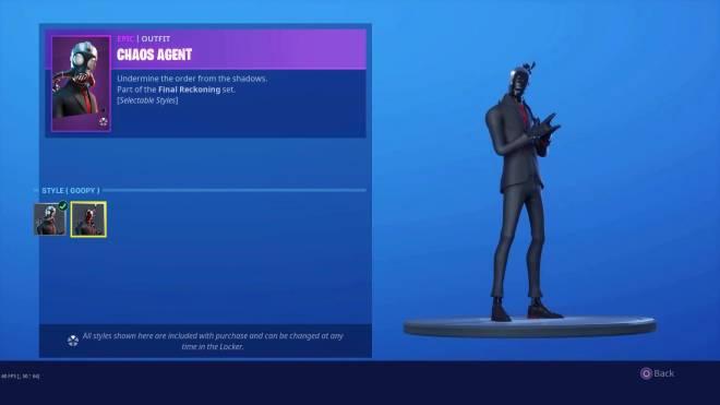 Fortnite: Battle Royale - Doesn't he look like a black slender man? image 1