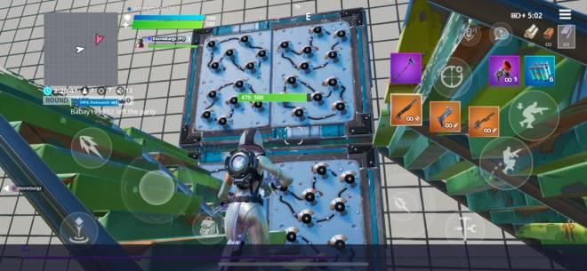 Fortnite: Battle Royale - Kill a guy using a grapple, 😂 Bot Trap Set up image 1