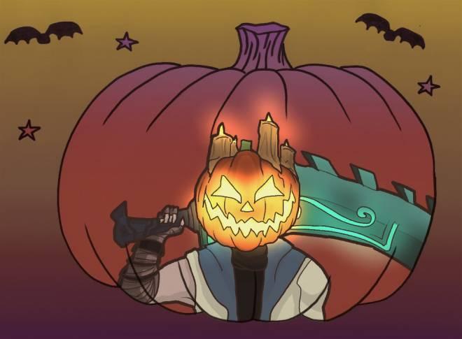 HEIR OF LIGHT: Pumpkin Carving Design Contest - Xit-O'-Lantern  image 1